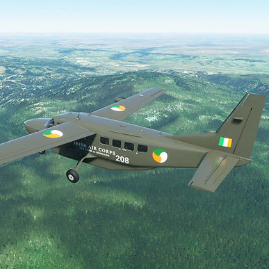 Irish Air Corps Livery for C208