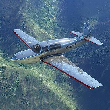 Amelia Earhart Livery Mooney M20R