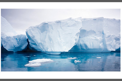 Antarctica THREE ICEBERGS