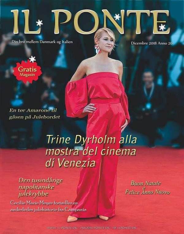 Trine Dyrholm alla mostra del cinema di Venezia