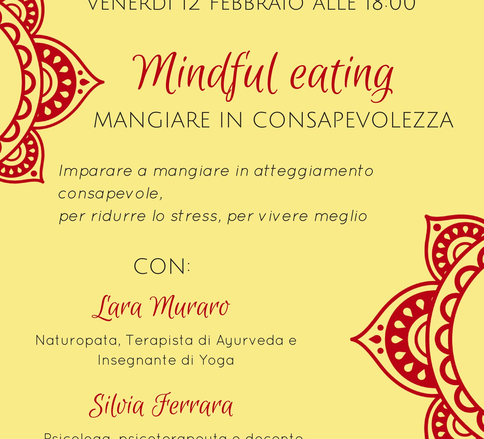 Mindful eating locandina Librati