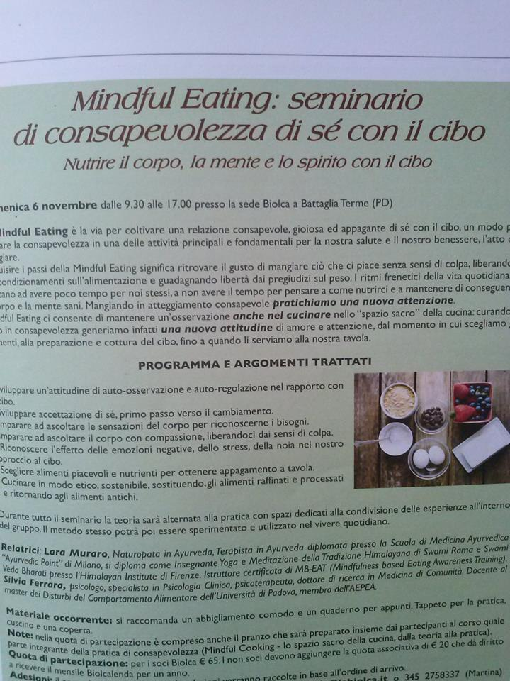 Workshop La Biolca