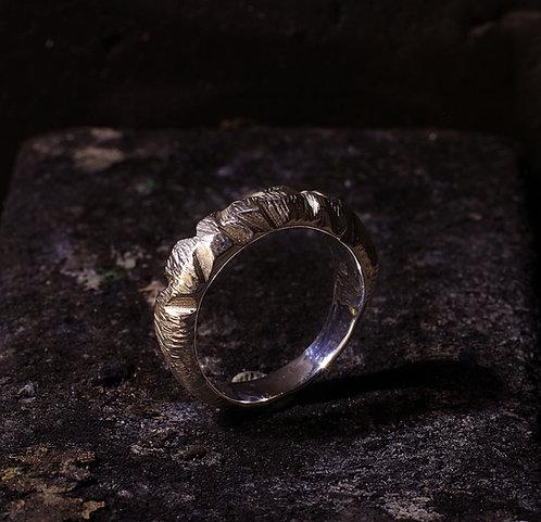 Bague contemporaine anneau homme mixte unisexe argent 925 Gaston Bijoux