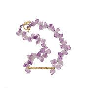 Colliers argent 925, or, gemmes, pierres précieuses, collier contemporain, collier créateur, collier sur mesure