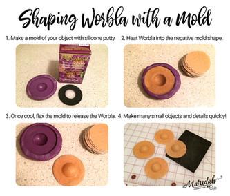 Worbla Mold Shaping