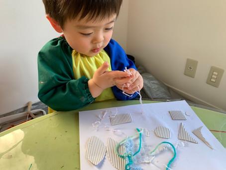 2歳児「版画」