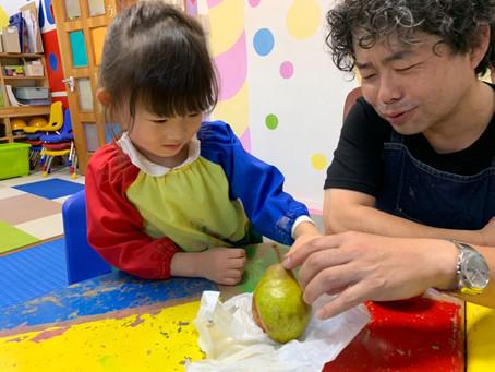 「フルーツの絵を描こう」