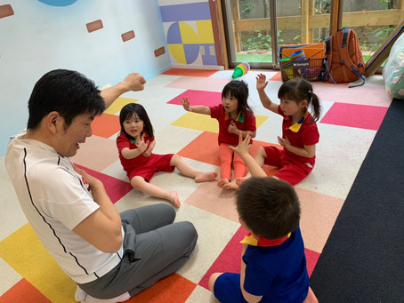 体操クラス:3歳児