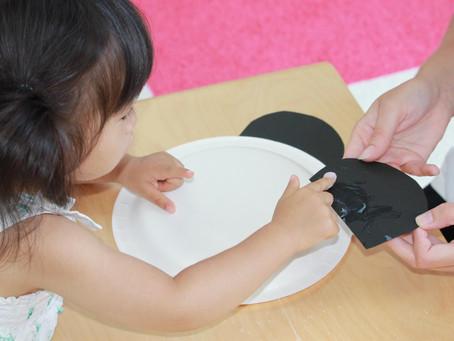 紙皿パンダ