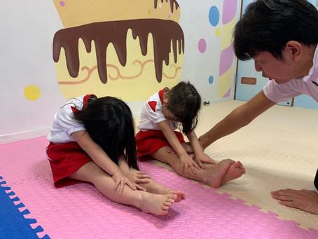 体操クラス:基礎運動能力の向上