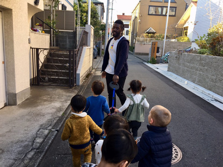 歩く練習・交通ルール