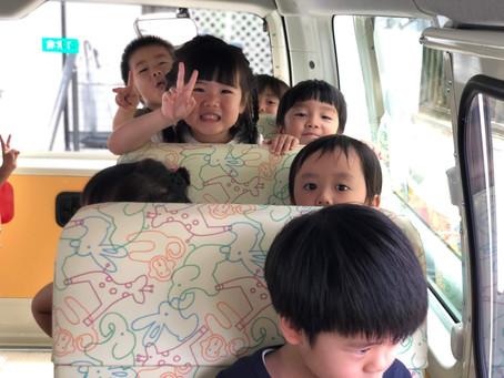 園バス試乗体験!!