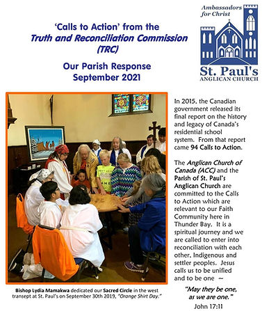 SEPT2021 Reponce to TRC CALLS TO ACTION .jpg