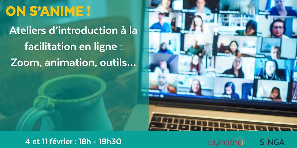 Atelier: Introduction à la facilitation en ligne - Séance 1