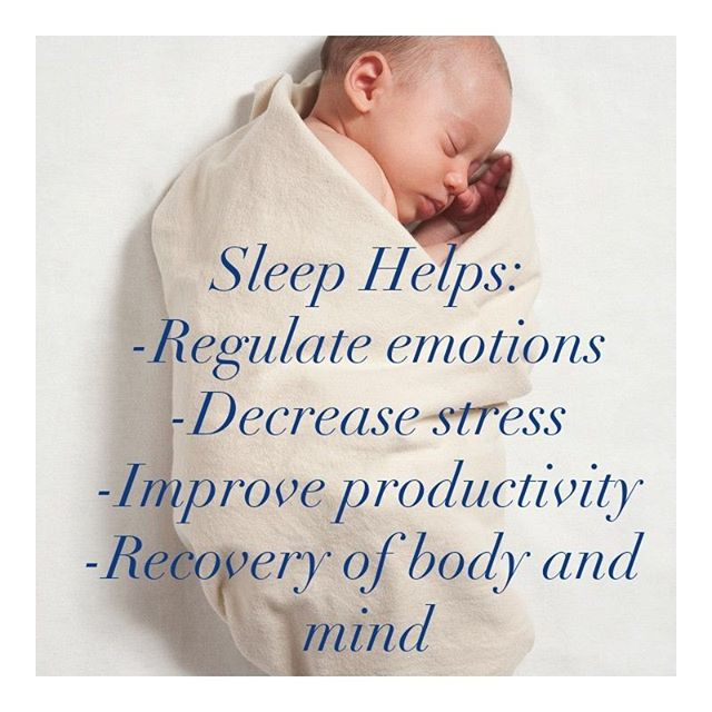 Sleep is such an important aspect of our