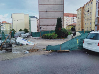 UNA GESTIÓN DESASTROSA DE LAS OBRAS PÚBLICAS, NO ACABAN NUNCA  ESPECIALMENTE PREOCUPANTE EL CASO DEL