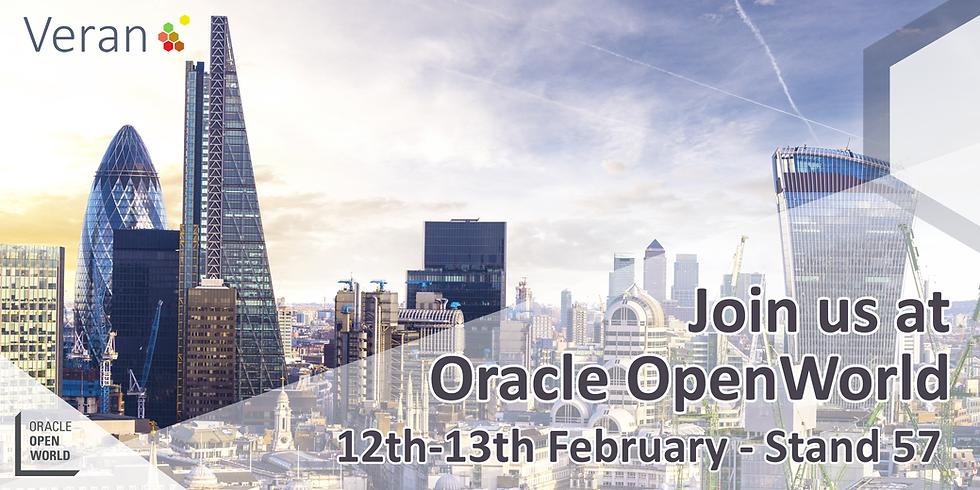 Oracle OpenWorld London