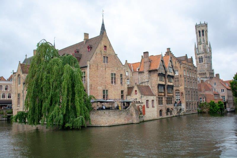 Brugge Belgija Potujoči brlog
