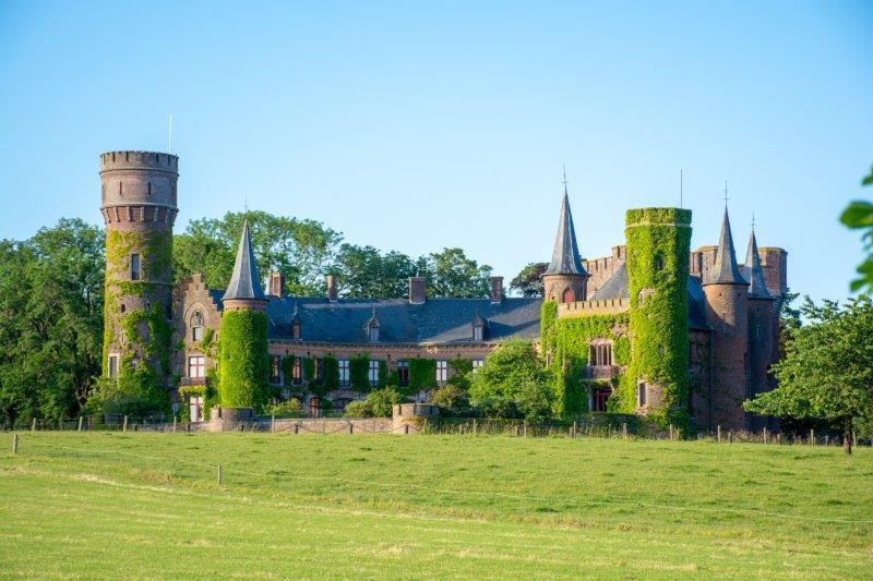 Kasteel van Wijnendale Belgija Potujoči brlog