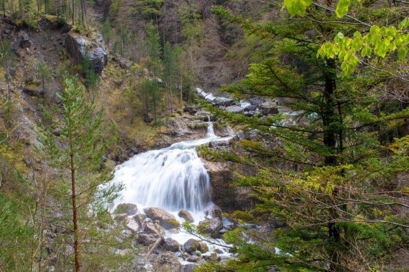 Cascada de Arrapas Nacionalni park Ordesa Potujoči brlog