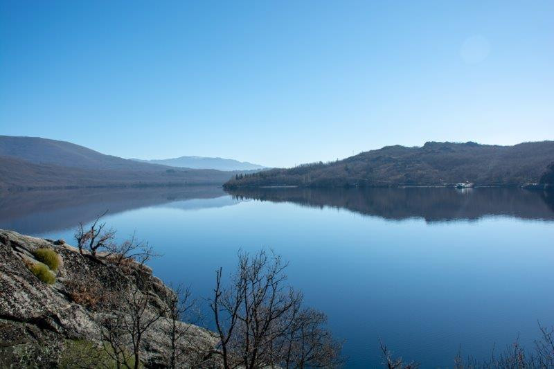Jezero Sanabria Potujoči brlog