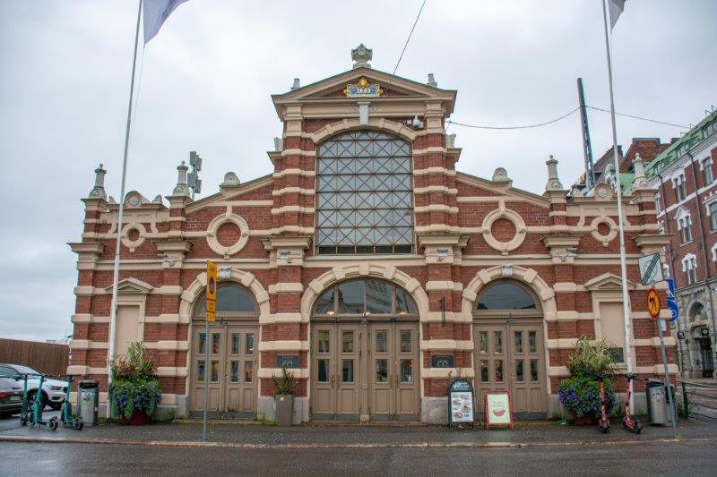 Tržnica Helsinki Potujoči brlog
