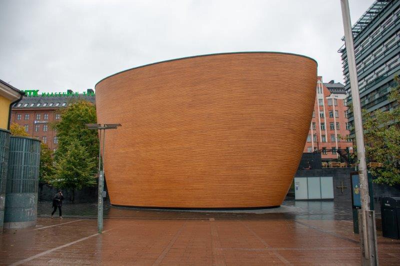 Kapelica Kamppi Helsinki Potujoči brlog