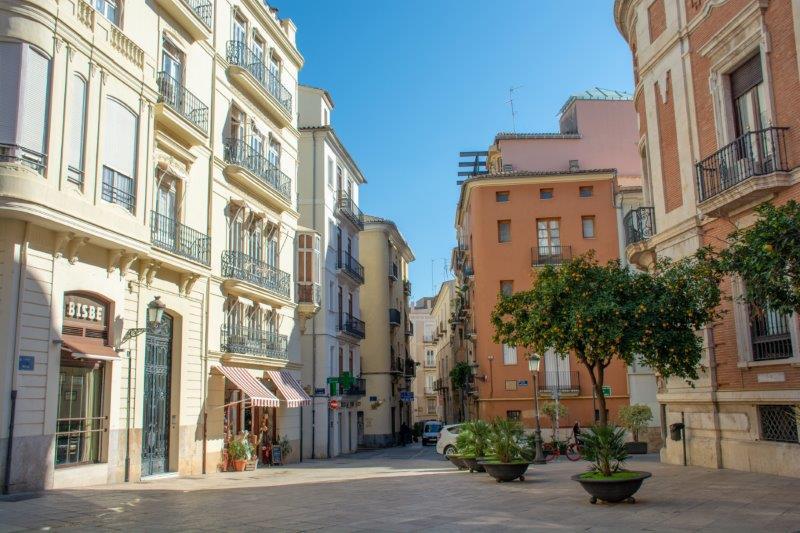 Valencija središče mesta Potujoči brlog
