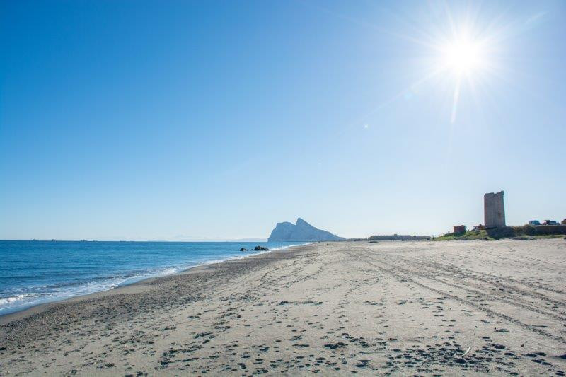 Gibraltar Playa de Santa Clara Potujoči brlog