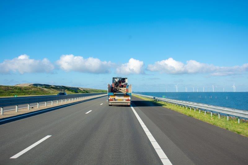 Afsluitdijk Potujoči brlog Nizozemska