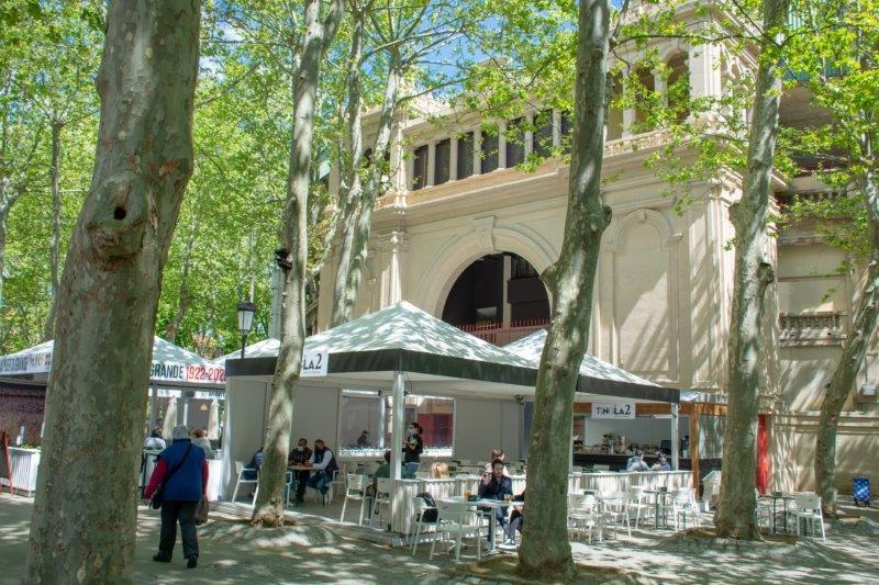 Plaza de Toros Pamplona Potujoči brlog