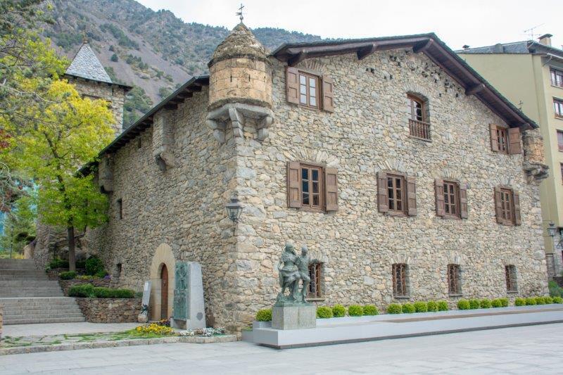 Casa de la Vall Andora Potujoči brlog
