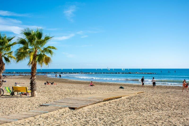 Plaža Postiguet potujoči brlog