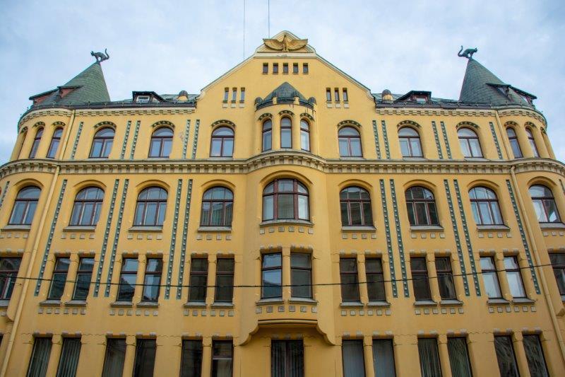 Mačja hiša Riga Potujoči brlog