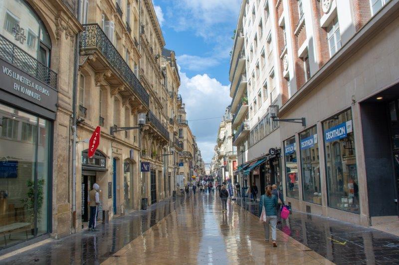 Rue Sainte-Catherine Bordeaux Potujoči brlog