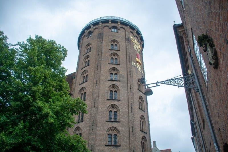 Rundetårn Kopenhagen Danska Potujoči brlog