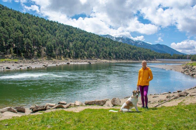 Lac d'Engolasters Andora Potujoči brlog