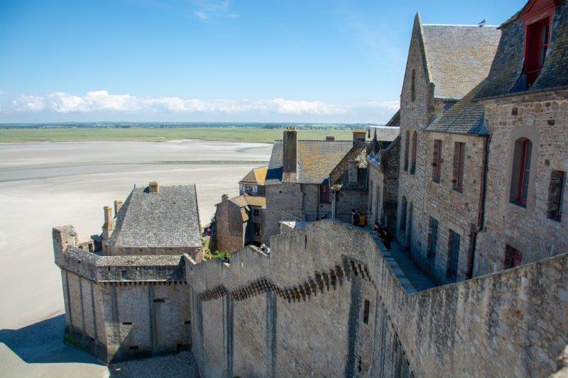 Mont Saint-Michel Potujoči brlog