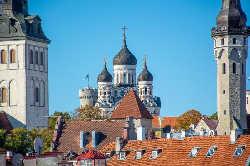 Katedrala Alexandra Nevskyega Talin Potujoči brlog