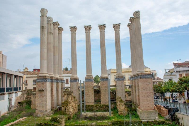 Rimski tempelj Cordoba Potujoči brlog