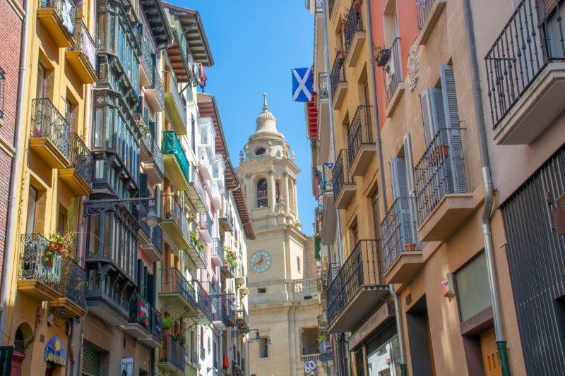 Katedrala Pamplona Potujoči brlog