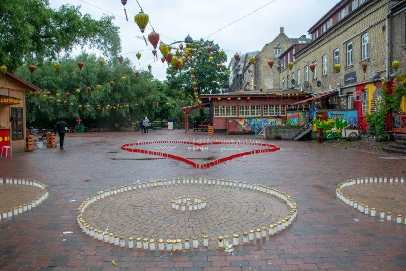 Christiania Kopenhagen Danska Potujoči brlog