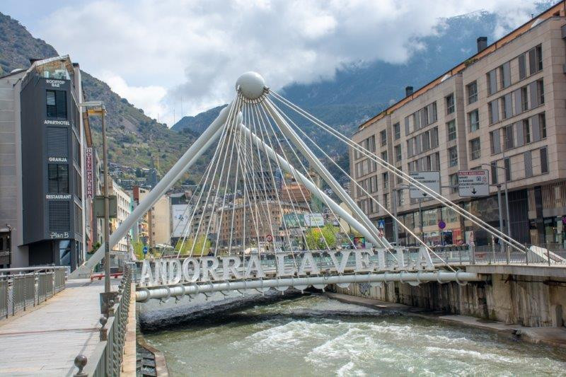 Pont de Margineda Andora Potujoči brlog