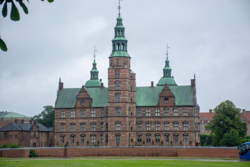 Rosenborg Kopenhagen Danska Potujoči brlog