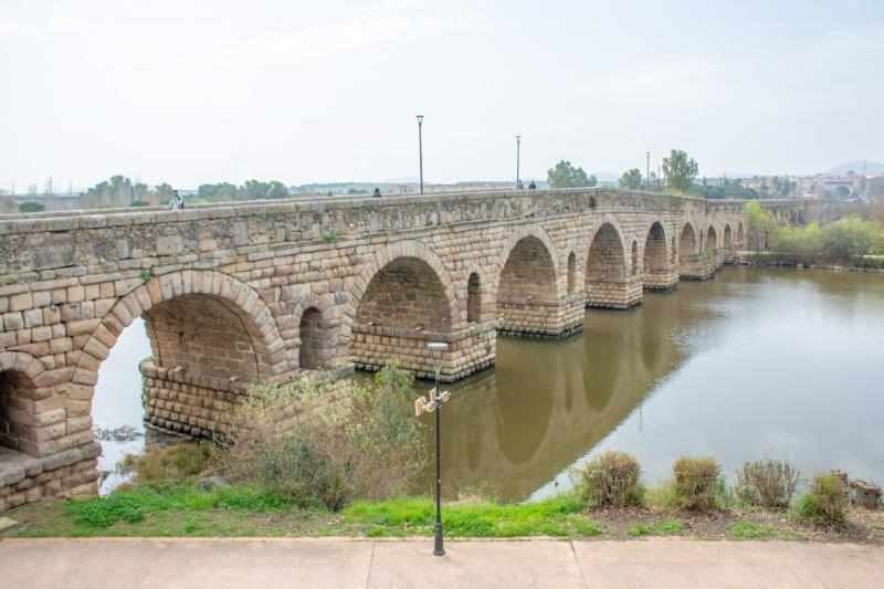 Rimski most Merida Potujoči brlog