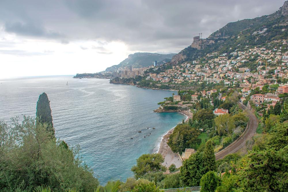 Pogled na Monako potujoci brlog