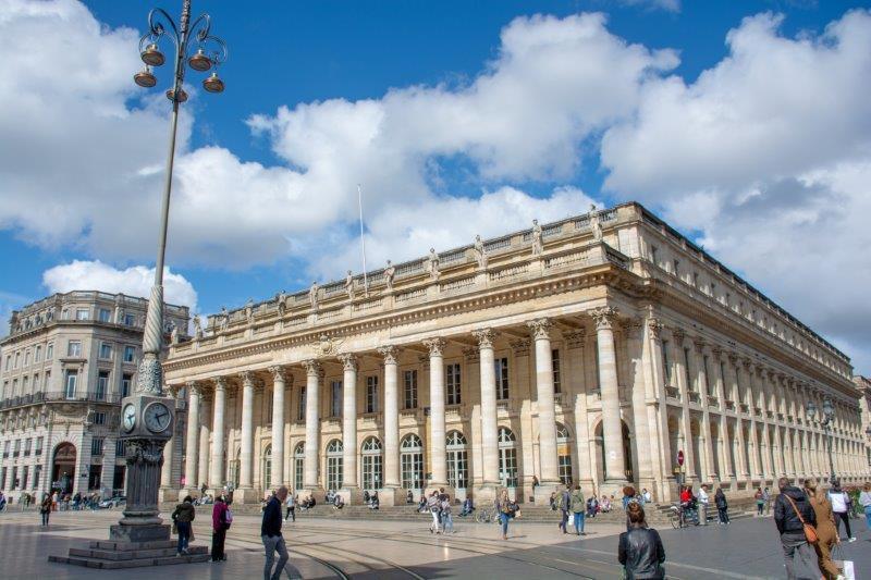 Grand Théâtre de Bordeaux Potujoči brlog