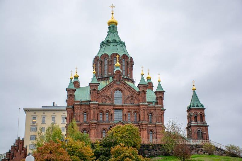Katedrala Uspenski Helsinki Potujoči brlog