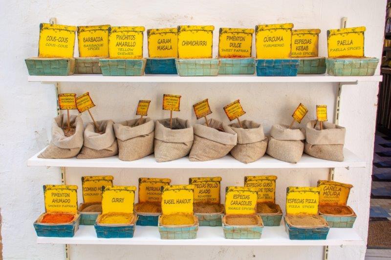 Trgovina z začimbami Sevilla potujoči brlog