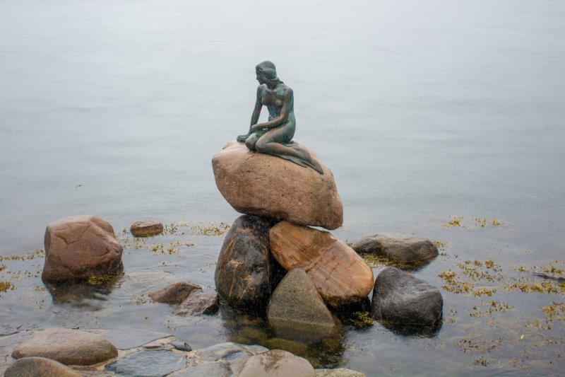 Mala morska deklica Kopenhagen Danska Potujoči brlog